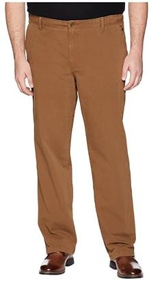 Dockers Big Tall Downtime Khaki D3 Smart 360 Flex Pants (Tobacco) Men's Casual Pants