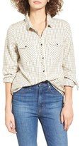 Roxy Women's Squary Cool Plaid Flannel Shirt