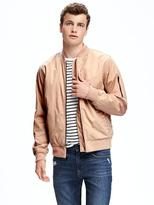 Old Navy Twill Bomber Jacket for Men