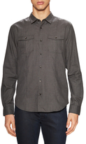 John Varvatos Spread Collar Slim Fit Sportshirt