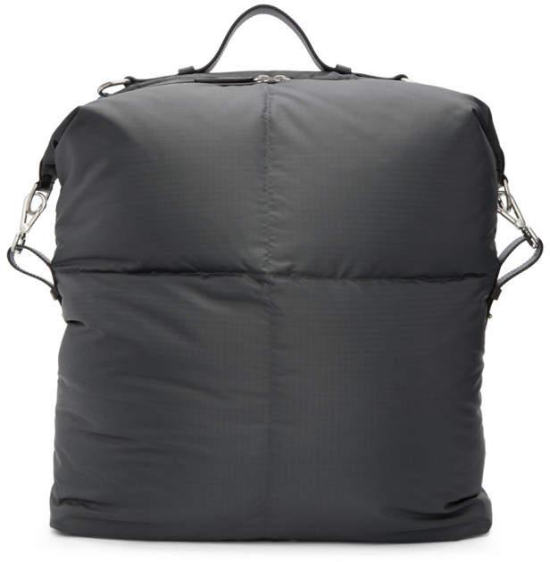 Jil Sander Grey North South Tread Backpack