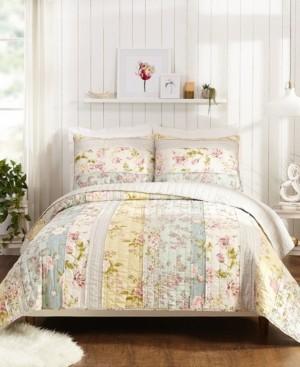 Jessica Simpson Mels Floral King Quilt