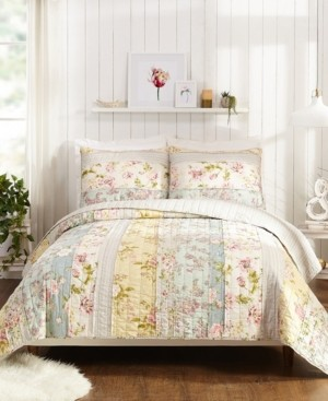 Jessica Simpson Mels Floral Twin Quilt