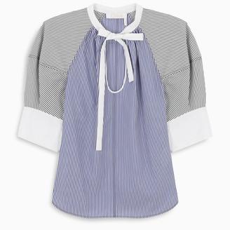 Chloé Striped shirt with ribbon detail