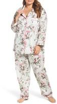 BedHead Plus Size Women's Floral Classic Pajamas