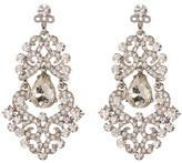 Natasha Accessories Crystal Chandelier Earrings