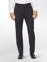 Calvin Klein Body Slim Fit Navy Pinstripe Suit Pants