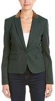 Anne Klein Women's Gold Foil Collar Jacket