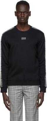 HUGO BOSS Black Vertical Logo Sweatshirt