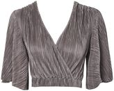 Oh My Love **Pleated Batwing Top