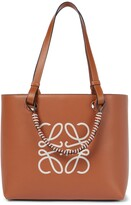 Thumbnail for your product : Loewe Anagram leather tote