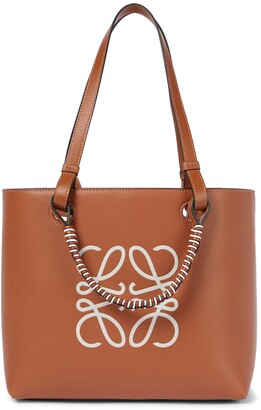 Loewe Anagram leather tote