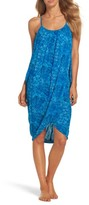 Green Dragon Women's Batik-I-Bleu Genevieve Cover-Up Dress