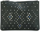 Givenchy stud embellished clutch - unisex - Calf Leather/Brass/glass - One Size
