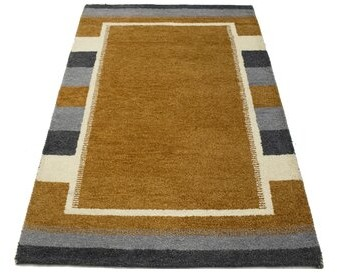 Dakota Fields Hand Knotted Wool Brown Area Rug Shopstyle