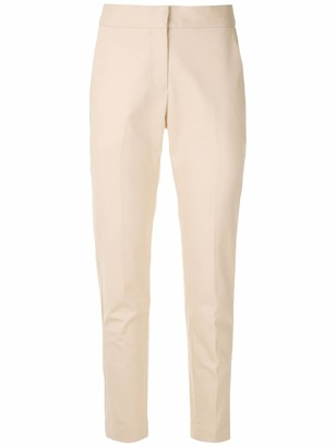 Andrea Marques Side Pockets Straight Trousers
