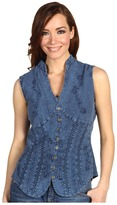 Scully Cantina Beautifully Detailed S/L Blouse
