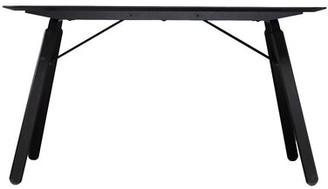 Mid-Century MODERN Stijn Midcentury Modern Dining Table Brayden Studio Color: Black