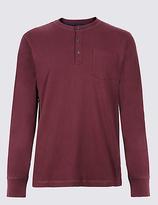 M&S Collection Supima® Cotton Pyjama Top
