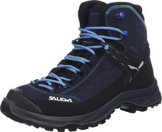 Salewa WS Hike Trainer Mid Gore-TEX Trekking & hiking boots Women's Blue (Hector/French Blue) 9 UK