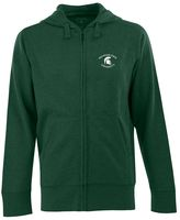 Antigua Men's Michigan State Spartans Signature Full-Zip Fleece Hoodie