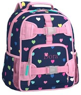 Pottery Barn Kids Pre-K Backpack, Mackenzie Navy Multi Heart