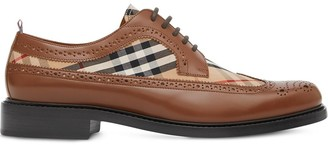 Burberry Vintage check brogues