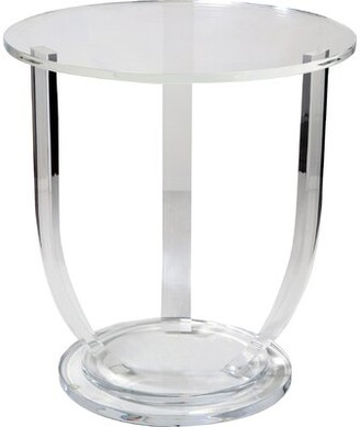 Interlude Lila End Table
