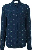 Vanessa Bruno geometric print button down shirt