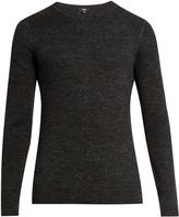 Vince Crew-neck cotton-blend sweater