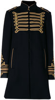 RED Valentino military coat - women - Cotton/Polyamide/Polyester/Wool - 40
