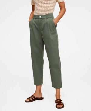 MANGO Relaxed Pants