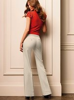 The Kate Fit bootcut pant in stretch cotton