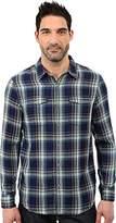 Lucky Brand Men's Indigo Double-Weave Work Shirt