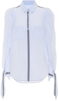 Burberry Silk crepe shirt