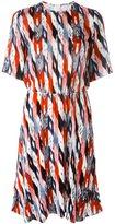 Etoile Isabel Marant 'Landen' velvet dress - women - Silk/Rayon - 38