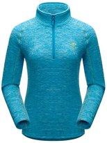 Panegy Winter Women Haf Zip Feece Puover Sweatshirt Feece Jacket Size - Bue