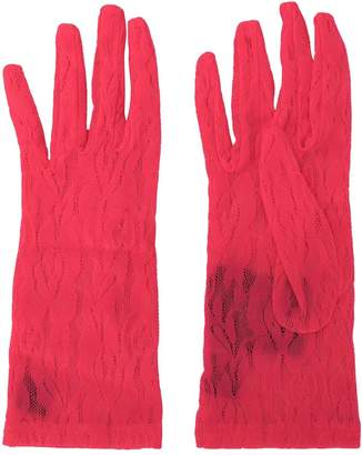 Gucci lace gloves