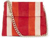 Karen Millen Striped Regent Chain Bag - Red/multi