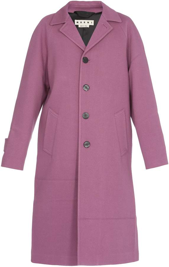 Marni Cotton And Wool Coat