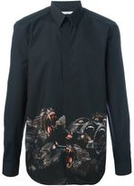 Givenchy cuban fit baboon print shirt