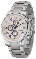 Jorg Gray Jg7600-34 The Aristocrat Stainless Steel Silver Strap Stainless Steel Case