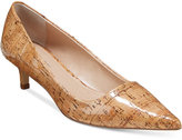 Charles by Charles David Drew Kitten-Heel Pumps