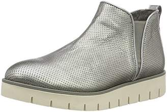 Tommy Hilfiger Women's W1285indsor 7a Chelsea Boots, Dark Silver 042