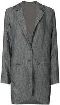 Transit - loose fit coat - women - Cotton/Linen/Flax/Viscose - 44