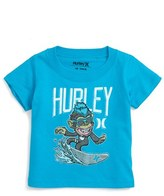 Hurley Infant Boy's Surfing Chimp Graphic T-Shirt