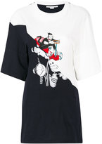 Stella McCartney Korky the Cat long T-shirt - women - Cotton/Spandex/Elastane/Viscose - 40