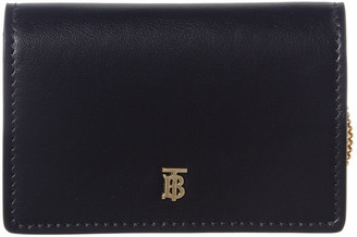 Burberry Jessie Leather Wallet On Chain