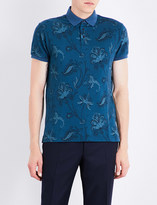 Etro Paisley-patterned polo shirt