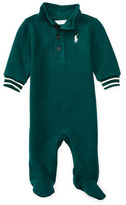 Ralph Lauren Childrenswear French Rib Polo Coverall